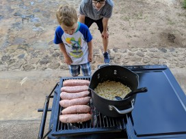 Meals on the grill