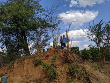 Termite mound fun