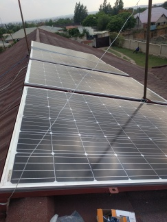 Solar Panels after first repair.